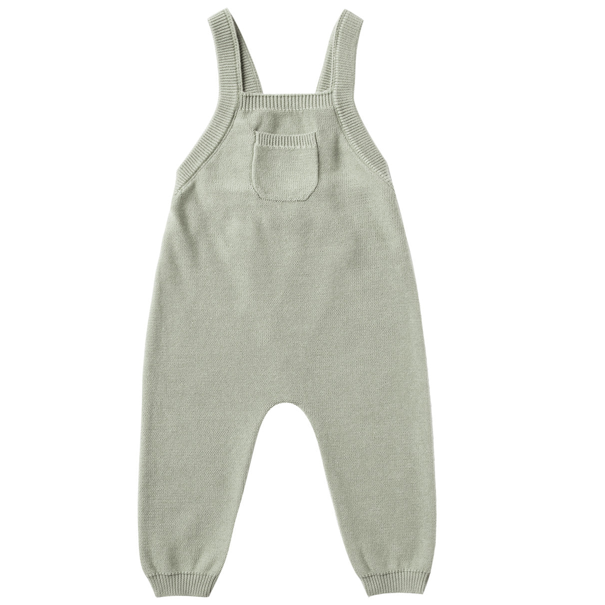 Quincy Mae Organic Knit Overall Sage