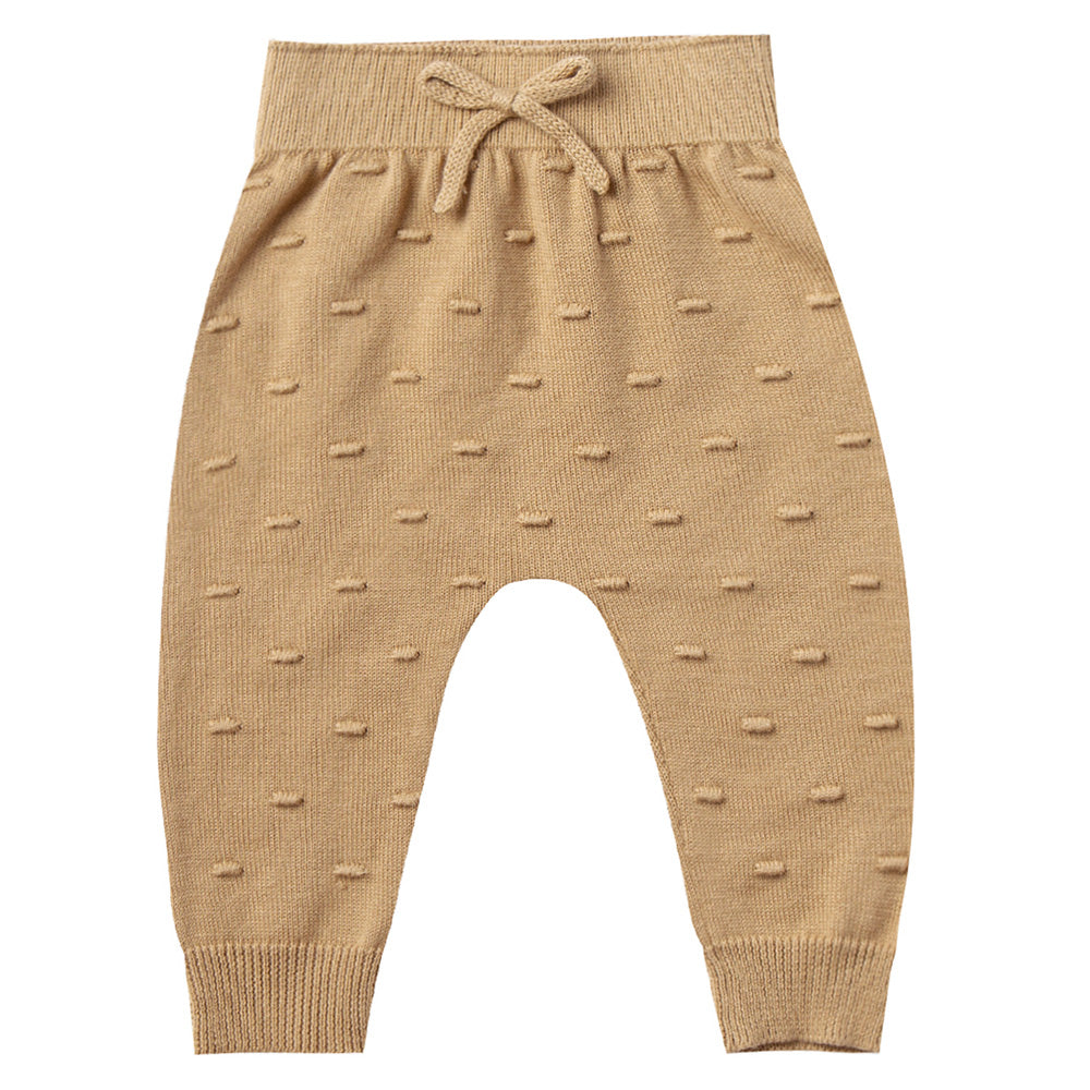 Quincy Mae Organic Knit Pant Honey