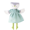 Hazel Village Organic Lucy Owl in Egg Blue Linen Dress