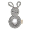 Cheengoo Bunny Ring Hand Crocheted Rattle