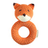 Cheengoo Fox Ring Crochet Hand Rattle