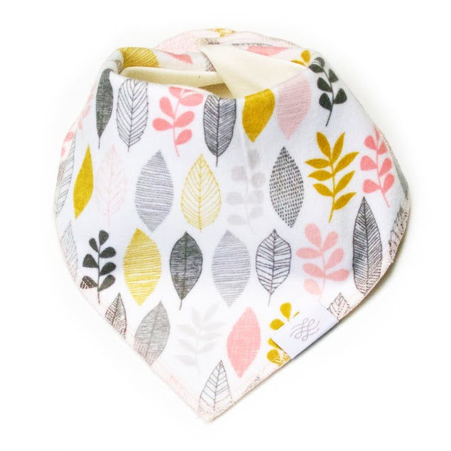 Logan + Lenora Soft Autumn Organic Neckerchief Bib