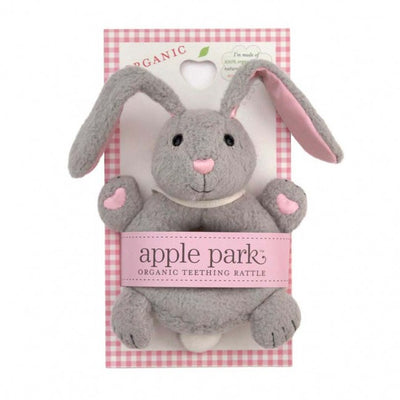 Apple Park Organic Soft Teething Toy Bunny