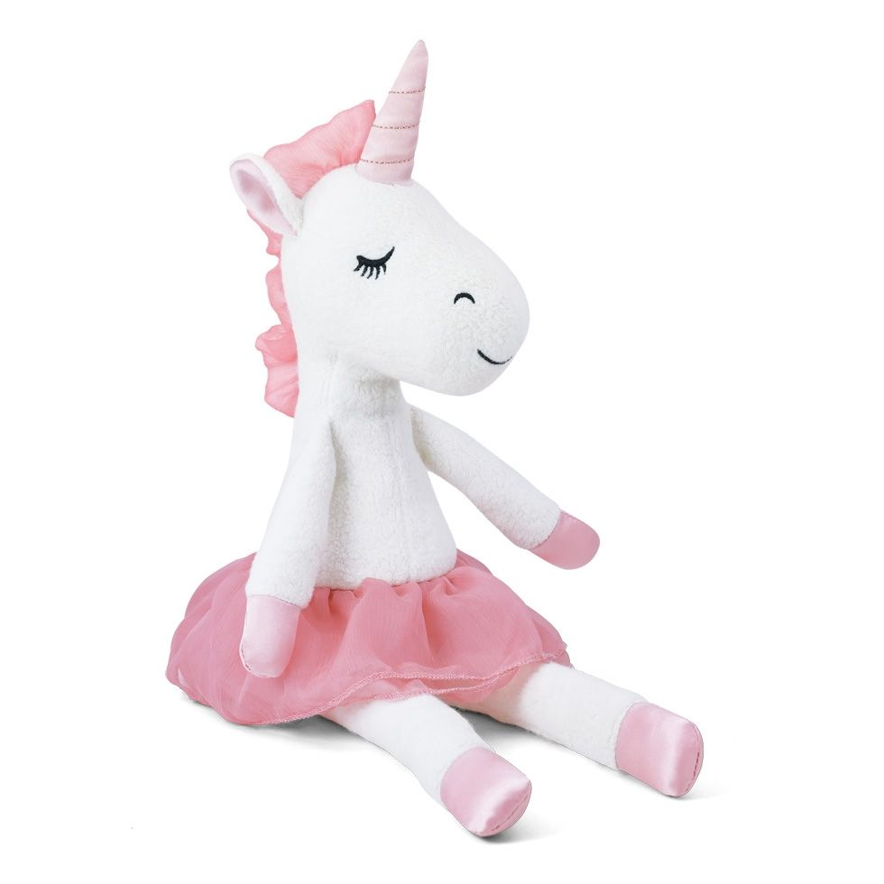 Apple Park Organic Unicorn Plush Toy – Pink