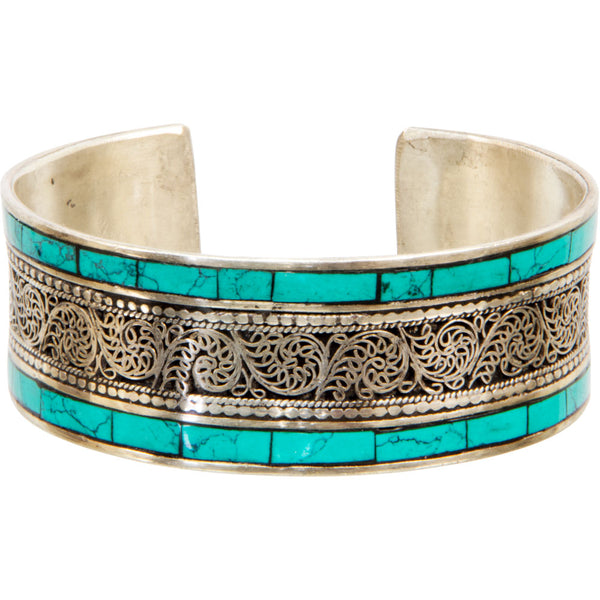 Bracelet Filigree with Turquoise