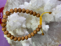 Genuine Sandalwood Wrist Mala from Nepal