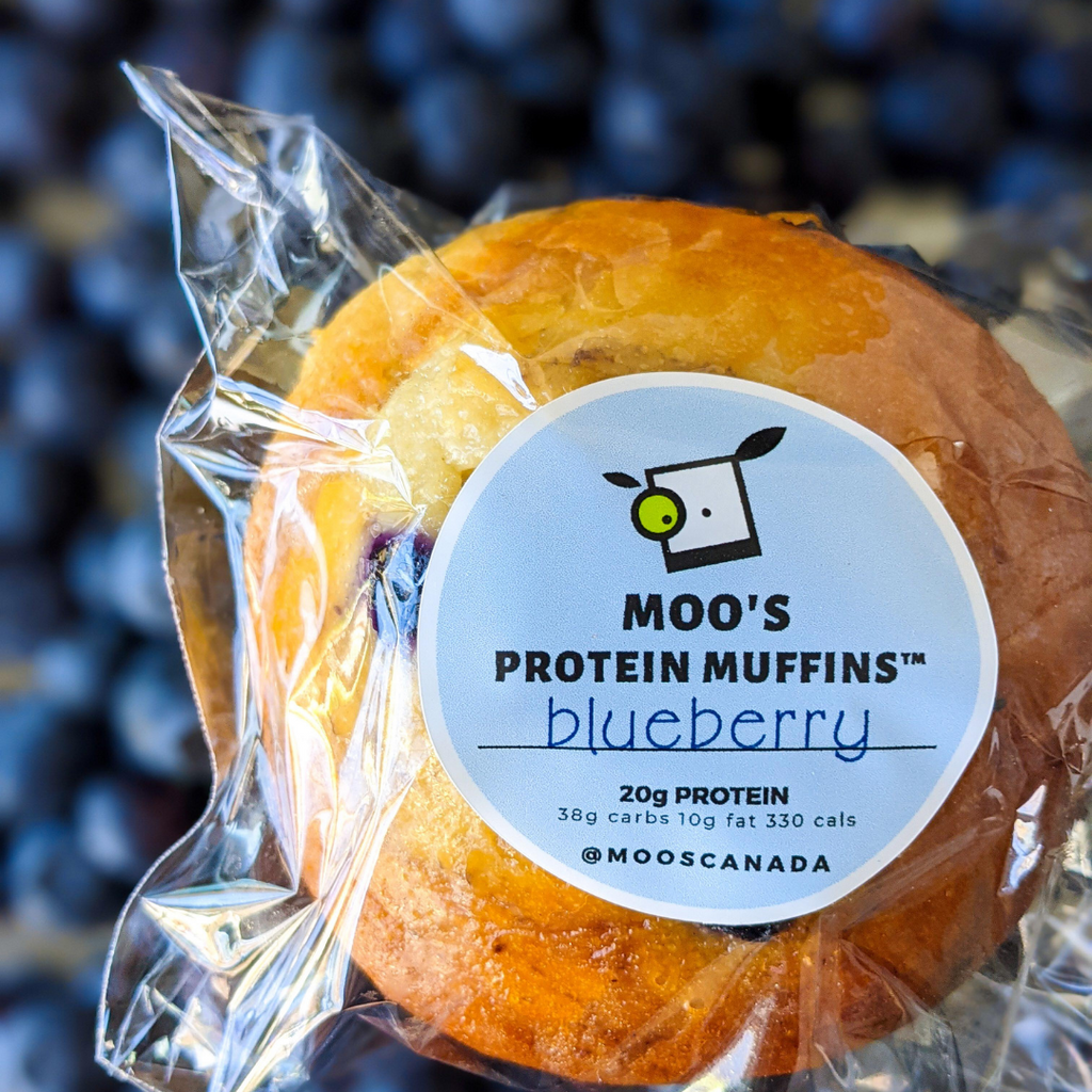 Moo's 20g Protein Muffins