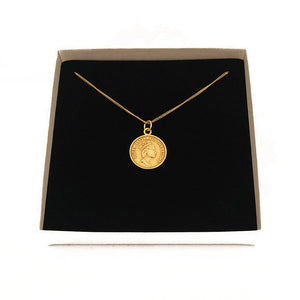 Penny Coin Necklace