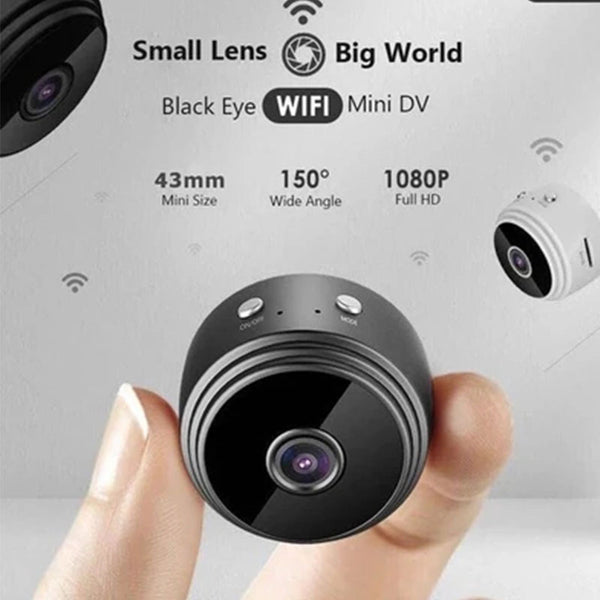 Mini Camera Camcorder Round HD 1080P Night Vision WiFi Remote Control Suction Video-Recorder