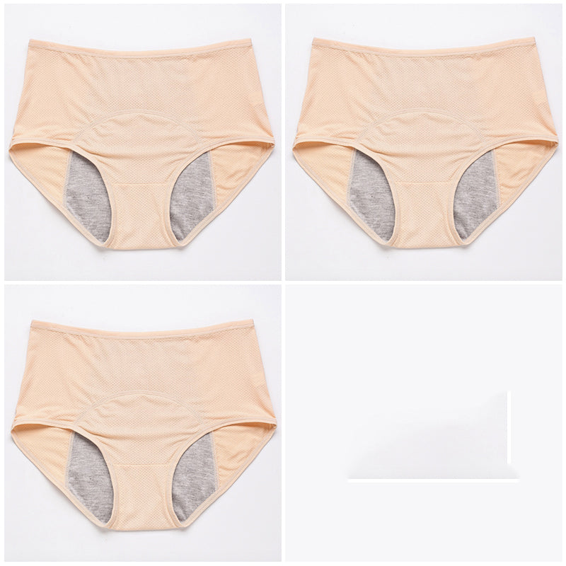 3-peice Physiological Period Leakproof Women's Breathable Panties(BUY 1 GET 2ND 10% OFF)