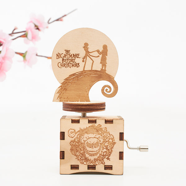 The Nightmare Before Christmas Music Box(BUY 1 GET 2ND 10% OFF)