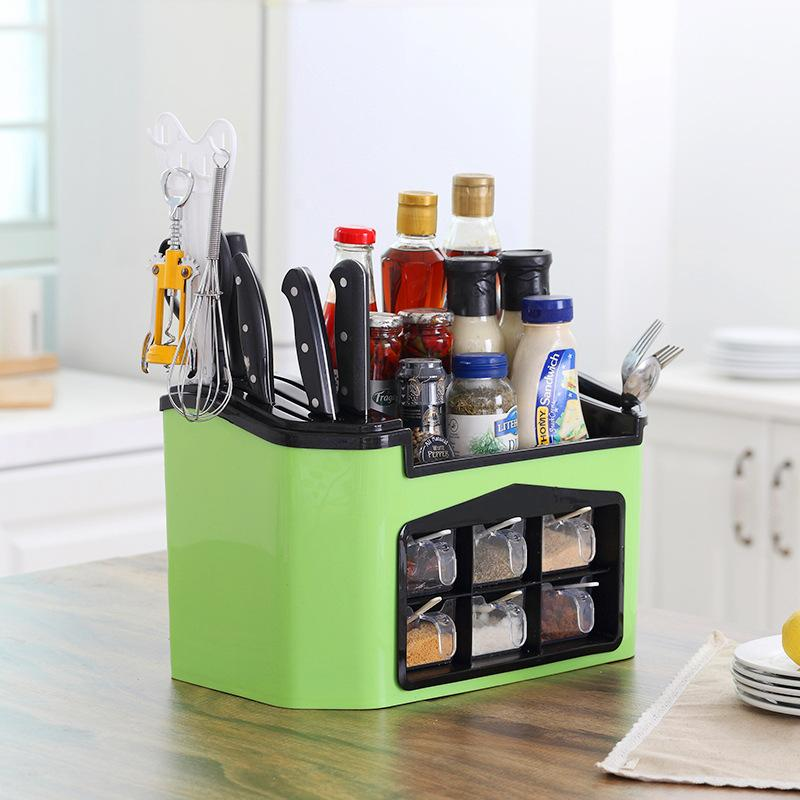 Multifunctional Kitchen Supplies Storage Rack