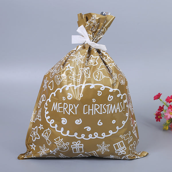30 PCS One Set Drawstring Christmas Blessing Gift Bag(BUY 1 GET 2ND 10% OFF)