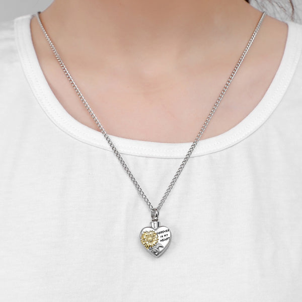 Love Sunflower Pendant Necklace(BUY 1 GET 2ND 10% OFF)