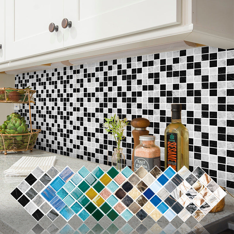 15pcs Kitchen Oil-proof Bathroom Mosaic 3D Wall Sticker(BUY 1 GET 2ND 10% OFF)