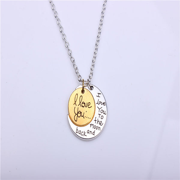 Valentine's Day Gift Lovers Moon Sun Necklace(BUY 1 GET 2ND 10% OFF)