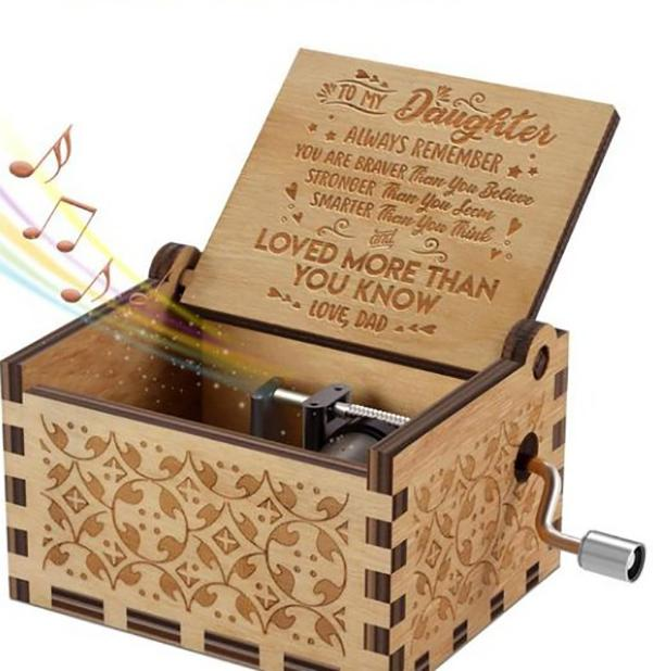 Hand-cranked Classical Music Box