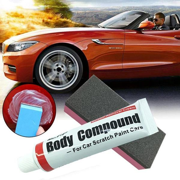 Car Scratch Repair Compound Cars Polishing Body Compound Wax Paint Repair Kit Car Supplies