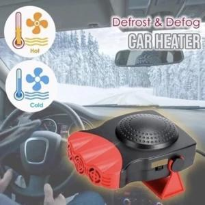 Auto Portable Car Heater Heating Fan With Swing-out Handle Cooling Fan