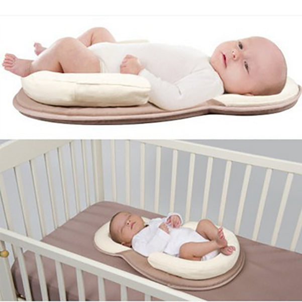 Baby Anti-head Shape Pillow Portable Baby Bed (BUY 1 GET 2ND 10% OFF)