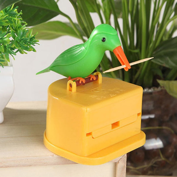 Creative Automatic Toothpick Holder