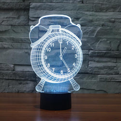 USB Night Light-Clock