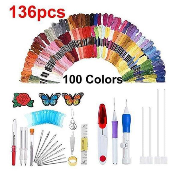 DIY Rainbow Color Embroidery Threading Tool (BUY 1 GET 2ND 10% OFF)