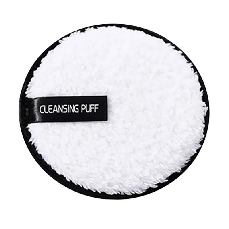 Powder Puff Face Cleansing Make Up Remover