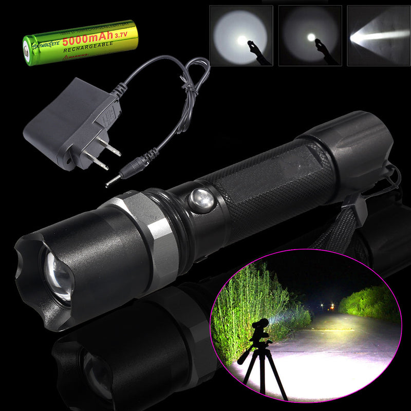 Rechargeable Multifunction Flashlight (BUY 1 GET 2ND 10% OFF)