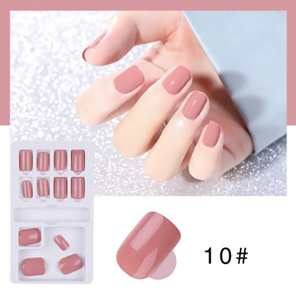 Removable and wearable nails