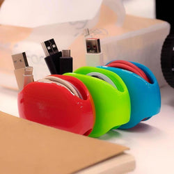 Automatic Mobile Phone Headset Data Cable Storage Box