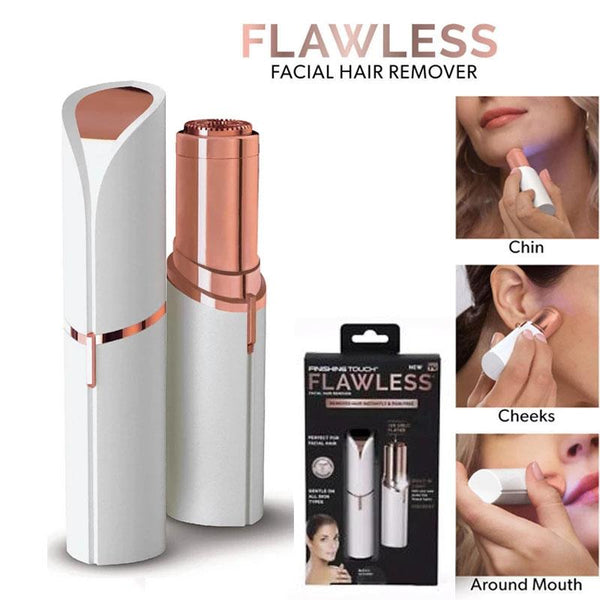 Women Finishing Touch Flawless Painless Hair Remover Shaver