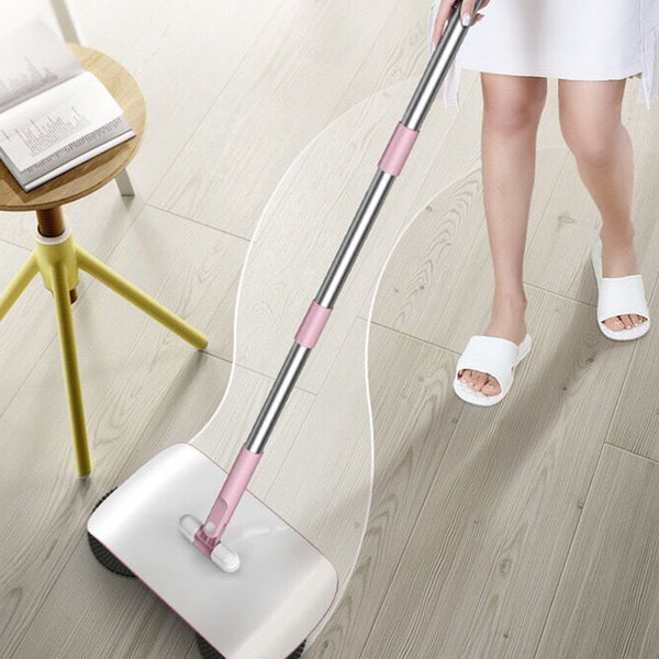 Stainless Steel Sweeping Machine Push Type Hand Push Magic Broom