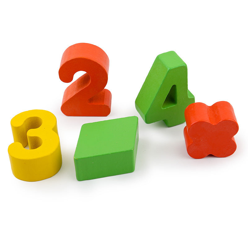 Children Wooden Numbers Matching Early Education Math Toys(BUY 1 GET 2ND 10% OFF)