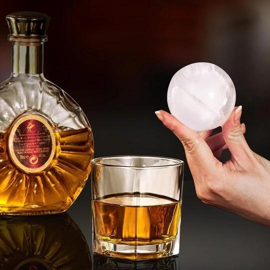 Circle Tovolo Ice Mold Whiskey Quick-Frozen Ice Cubes Silica Gel Spherical