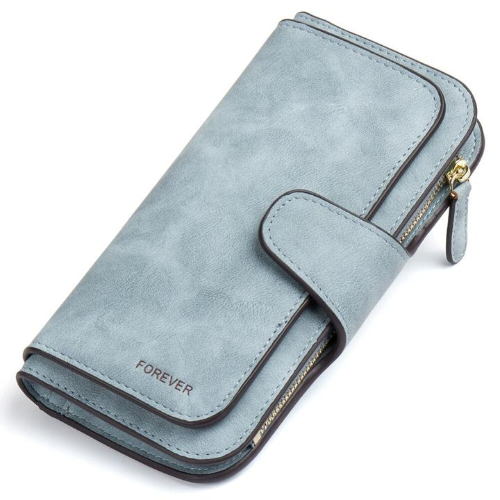 Women's Gradient Scrub Multi-function Large Capacity Buckle Wallet(BUY 1 GET 2ND 10% OFF)