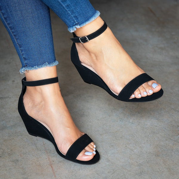 Summer Plus Size Women's Wedge Sandals