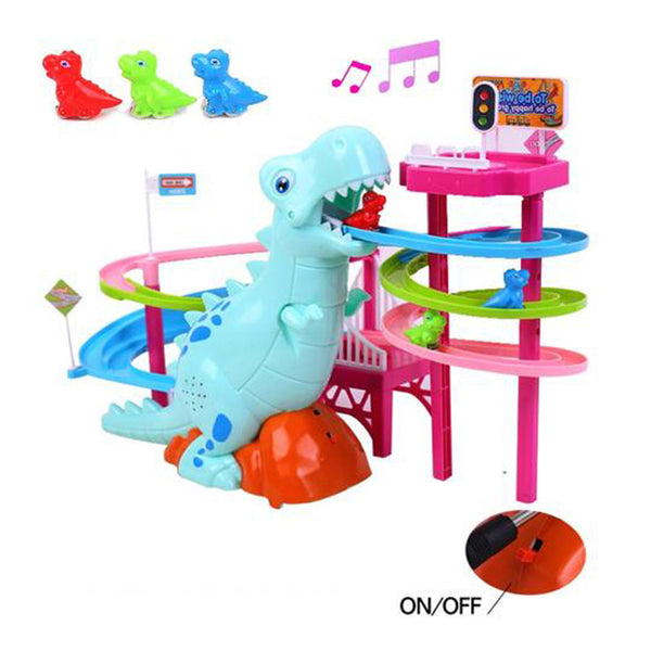 LED Race Toy Musical Dinosaur (BUY 1 GET 2ND 10% OFF)