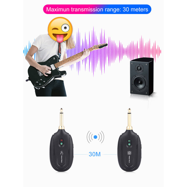 Electric Guitar Wireless Transmitter Receiver Set(BUY 1 GET 2ND 10% OFF)