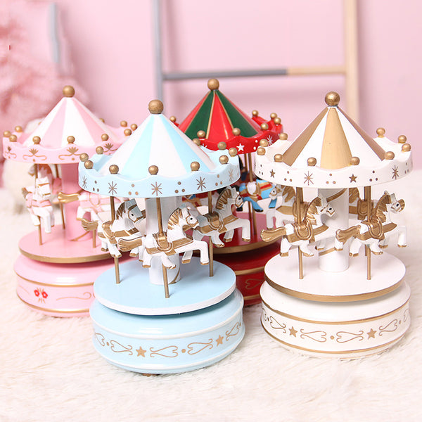 Castle In The Sky Creative Carousel Music Box(BUY 1 GET 2ND 10% OFF)