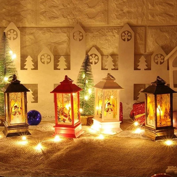 Christmas Led Small Oil Lamp Simulation Flame Portable Decoration(BUY 1 GET 2ND 10% OFF)