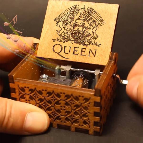 Queen Handshake Gift Birthday Gift Music Box(BUY 1 GET 2ND 10% OFF)