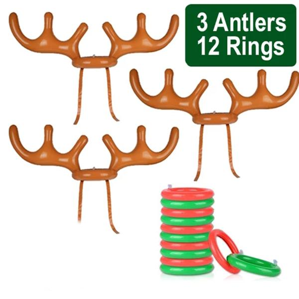 Christmas Reindeer Antler Ring Toss Game(BUY 1 GET 2ND 10% OFF)