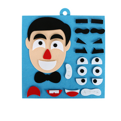 Facial Features Expression Hand-made Kindergarten Teaching Tool