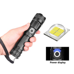USB Charging Zoom Powerful Flashlight(BUY 1 GET 2ND 10% OFF)