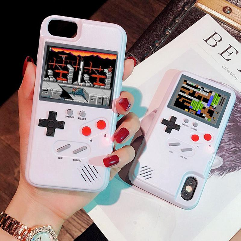 Contra Game Color Screen Phonecase