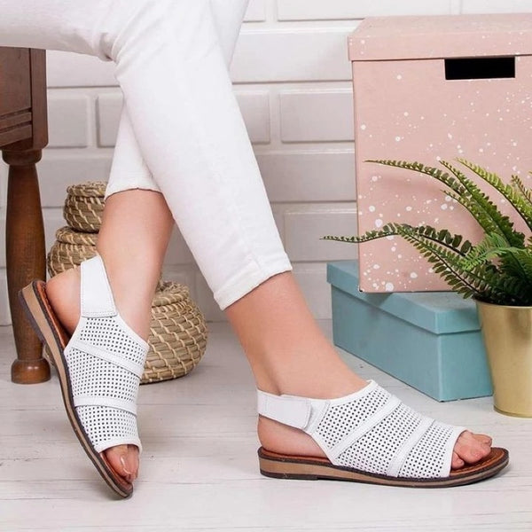 Women Casual Hollow-Out Slingback Sandal