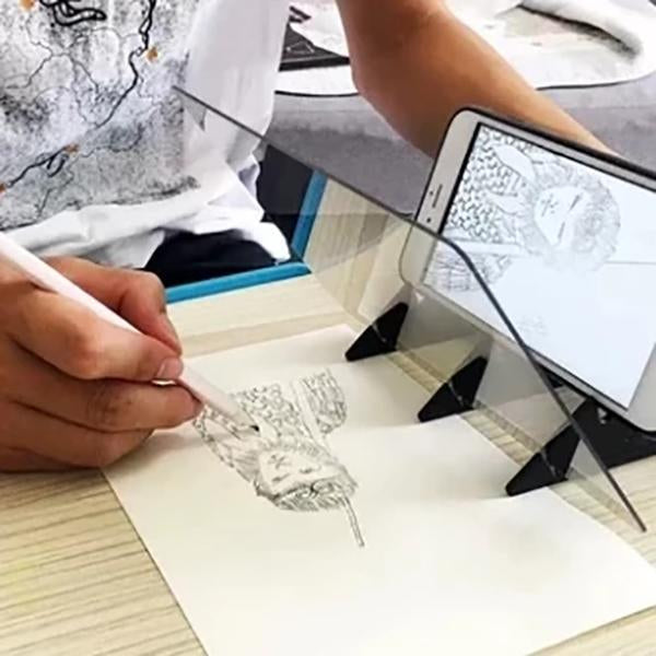 Magic Optical Image Drawing Board