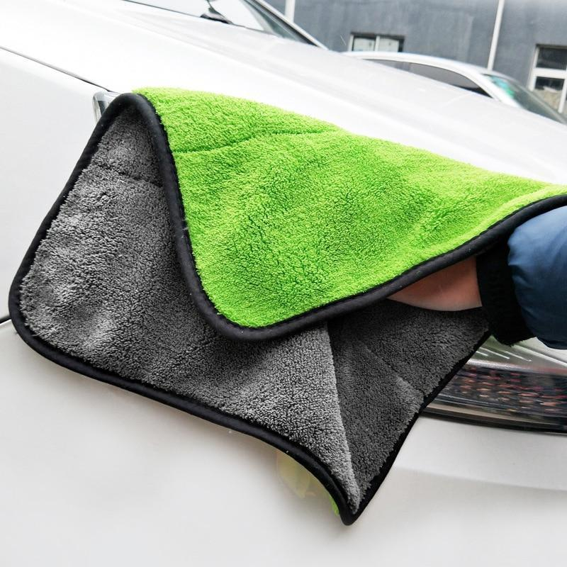 2 Pcs Car Absorbent Glass Cleaning Towel(BUY 1 GET 2ND 10% OFF)