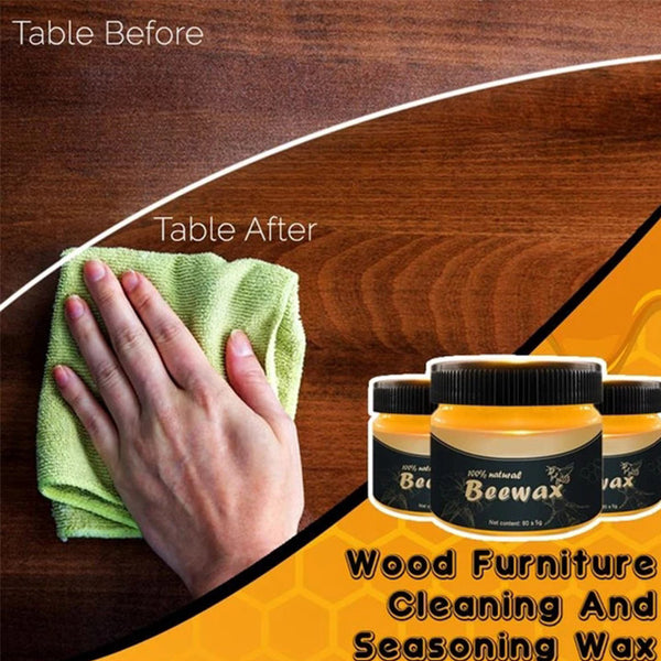 Wood Furniture Cleaning And Polishing Wax